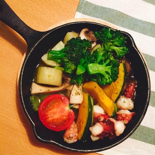 お腹痩せに効果的な夕食例