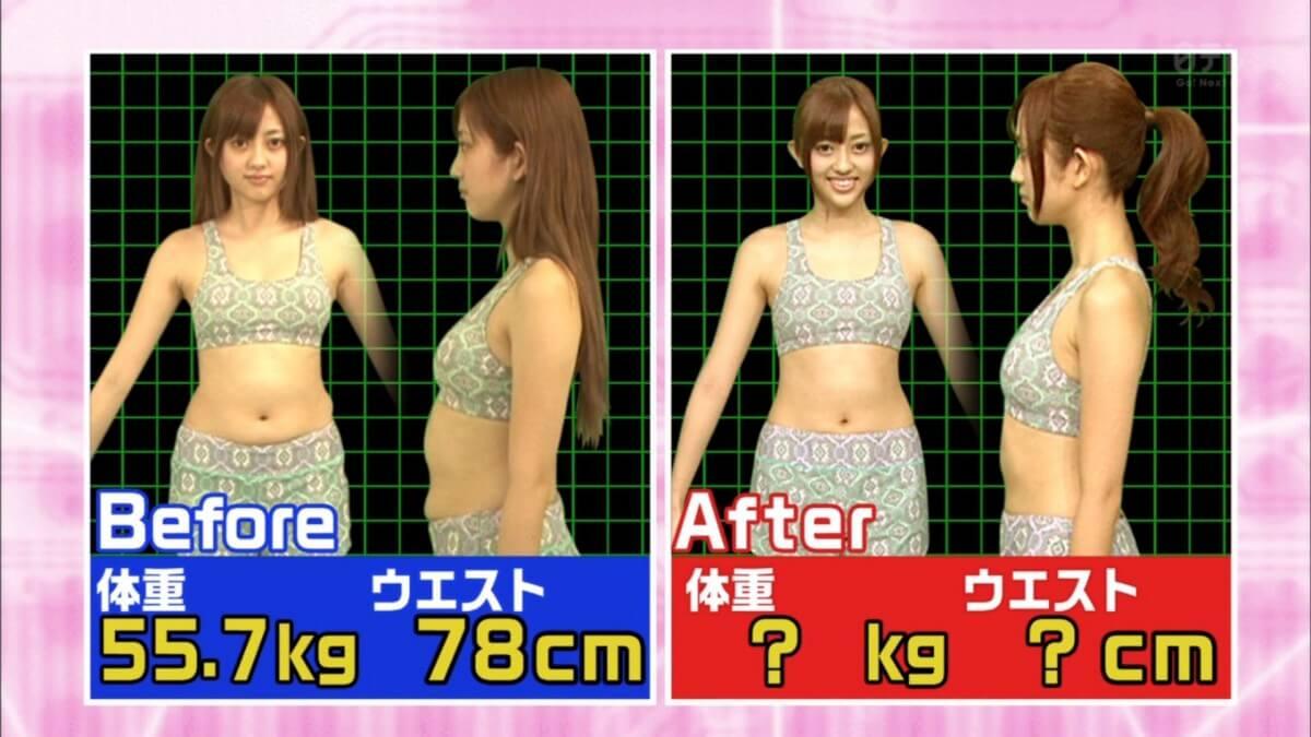 菊地亜美,激太り,痩せた,ダイエット,方法
