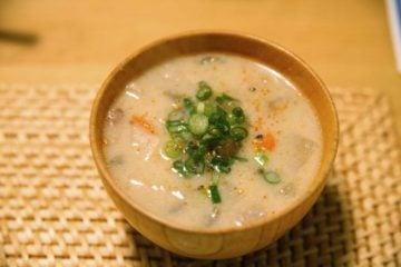 ゆで卵ダイエット_メニュー_味噌汁