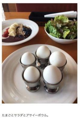 市川海老蔵のゆで卵ダイエットメニュー