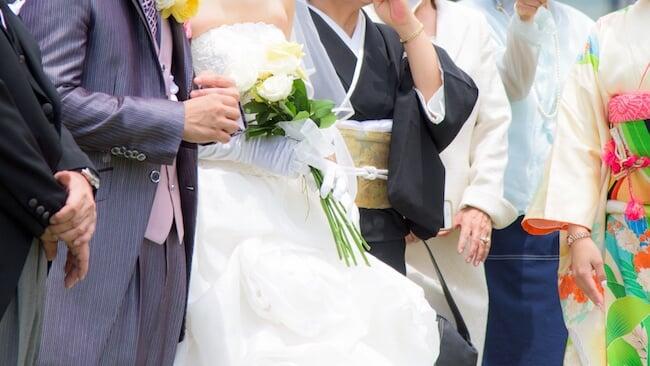 結婚式で脇汗