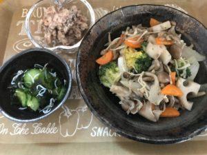 10キロダイエット_40代女性_食事_夕食_12日目