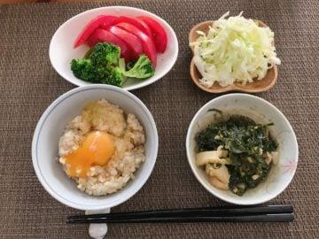 理想的なダイエットの朝食