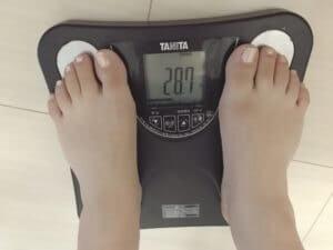 10キロダイエット_40代_女性_27日目_体重