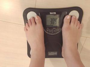 10キロダイエット_40代女性_体脂肪率12日目
