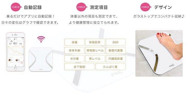 自動記録_ダイエットアプリ